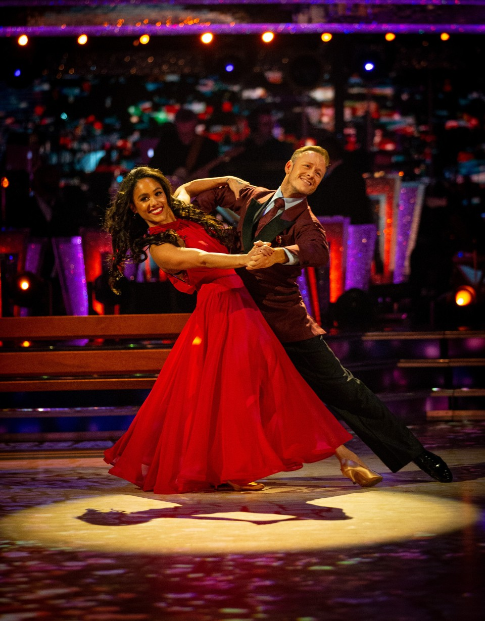 Strictly Come Dancing 2019 Alex Scott Kevin Clifton