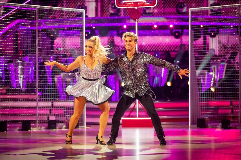 Strictly Come Dancing 2019 Saffron Barker AJ Pritchard
