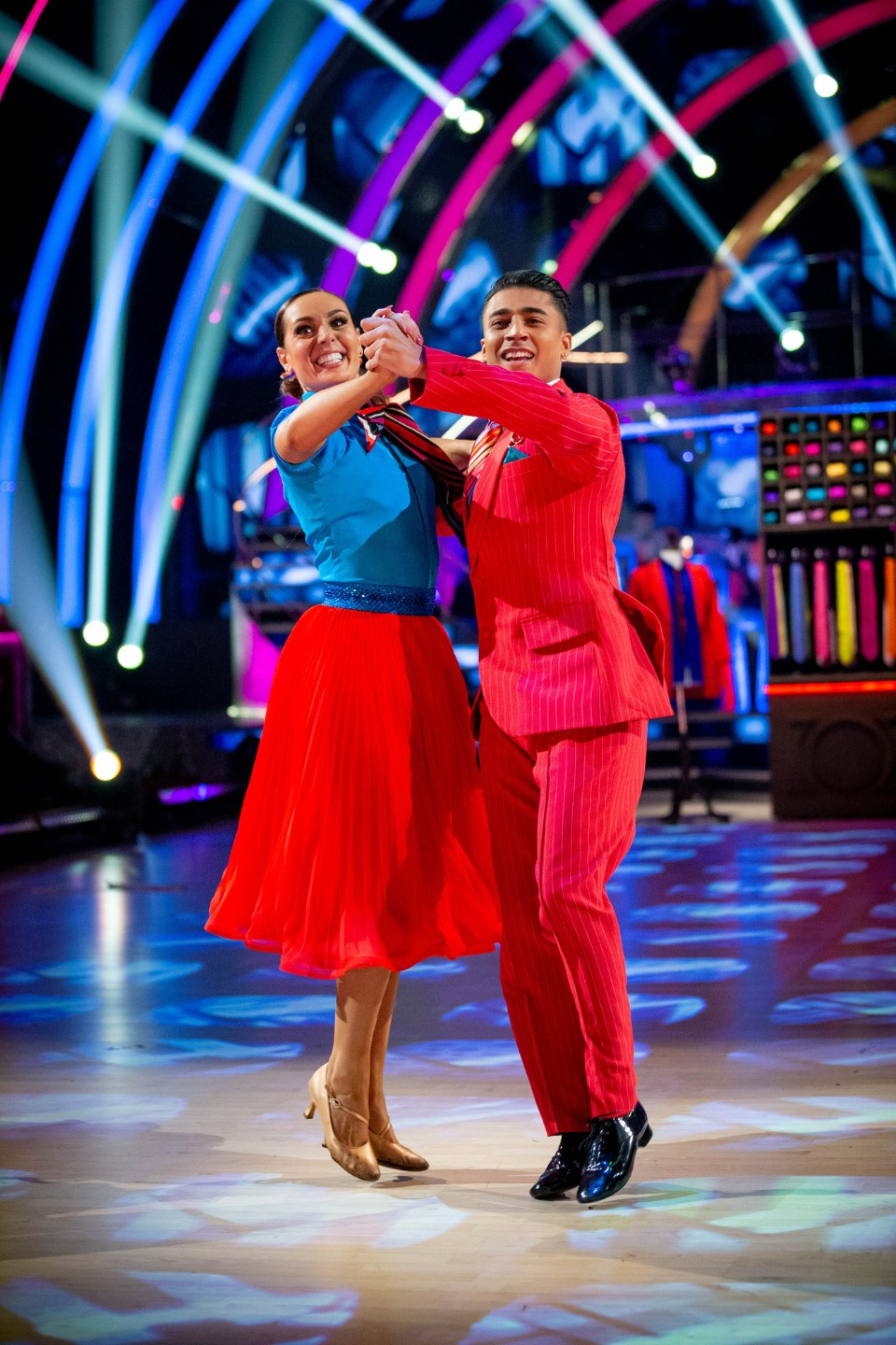 Strictly Come Dancing Karim Zeroual Amy Dowden