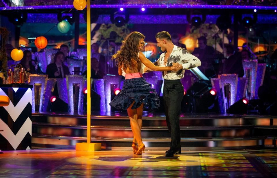 Strictly Come Dancing Viscountess Emma Weymouth Aljaz Skornajec