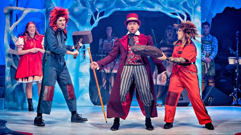 Red Riding Hood Pantomime Leeds City Varieties