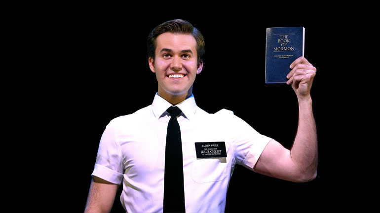The Book of Mormon Leeds Grand Theatre. Credit: Paul Coltas.