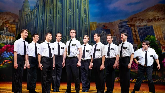 The Book of Mormon at Leeds Grand Theatre. Credit: Paul Coltas.