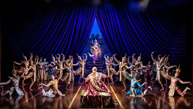 Superb stagecraft in The King and I. Credit: Annalene Beechey and the youth company. Credit: Matthew Murphy.