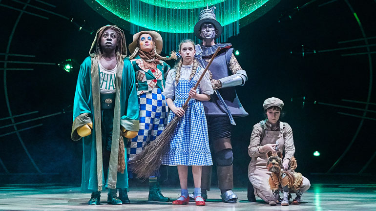 The Wizard of Oz at Leeds Playhouse. Photography by The Other Richard