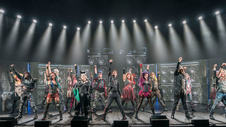 We Will Rock You Queen Musical Leeds Grand Theatre