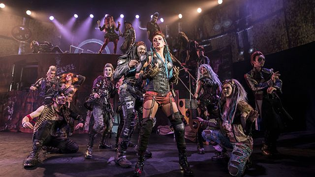 We Will Rock You at Leeds Grand Theatre. Credit: Johan Persson.