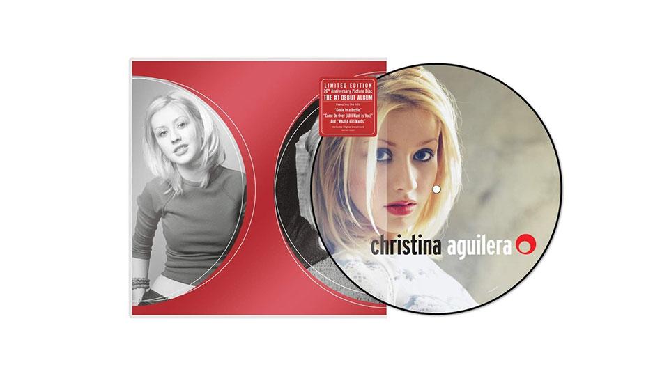 Christina Aguilera – Christina Aguilera 20th anniversary picture disc vinyl review - Entertainment Focus