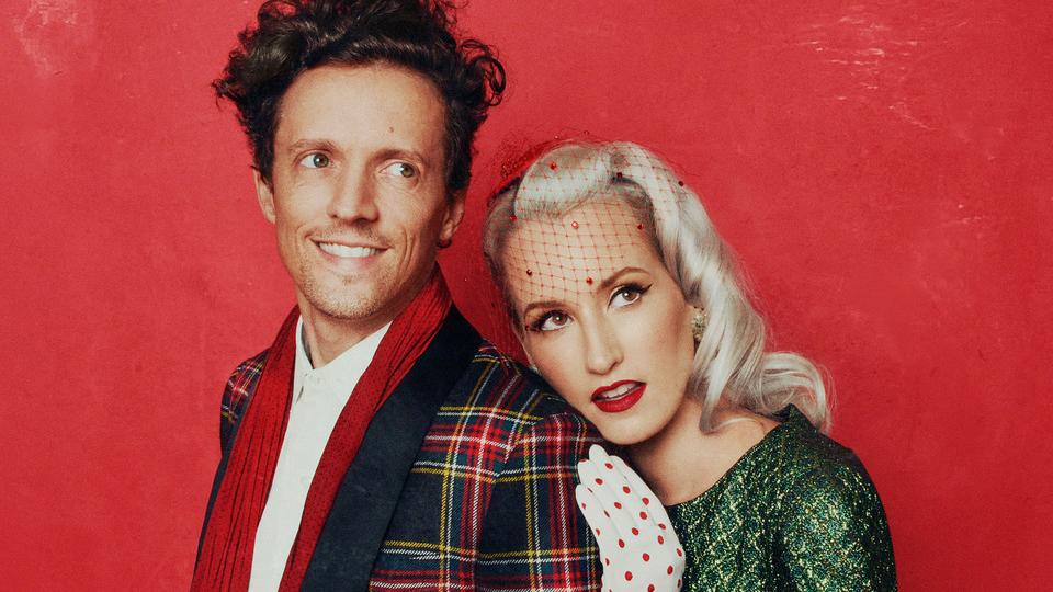 Jason Mraz and Ingrid Michaelson