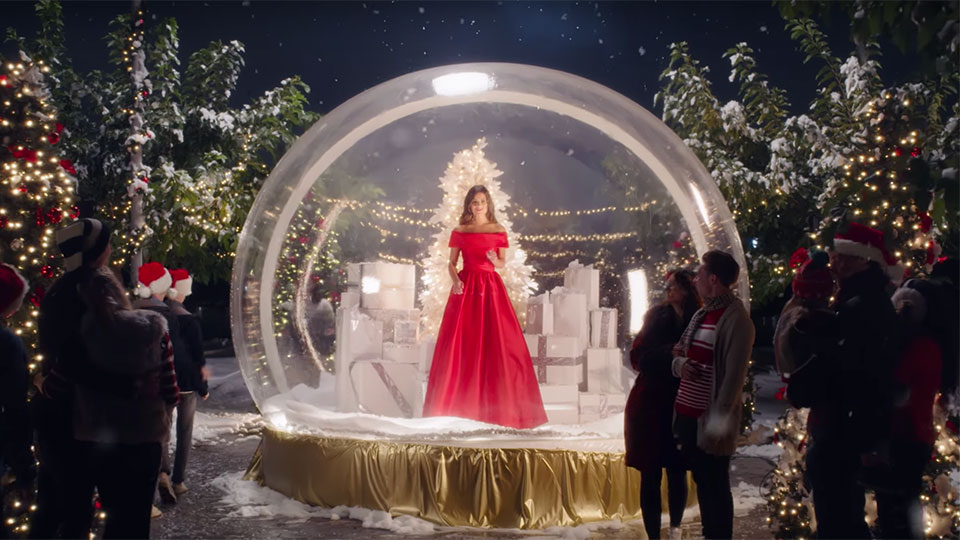 Lea Michele - Christmas in New York