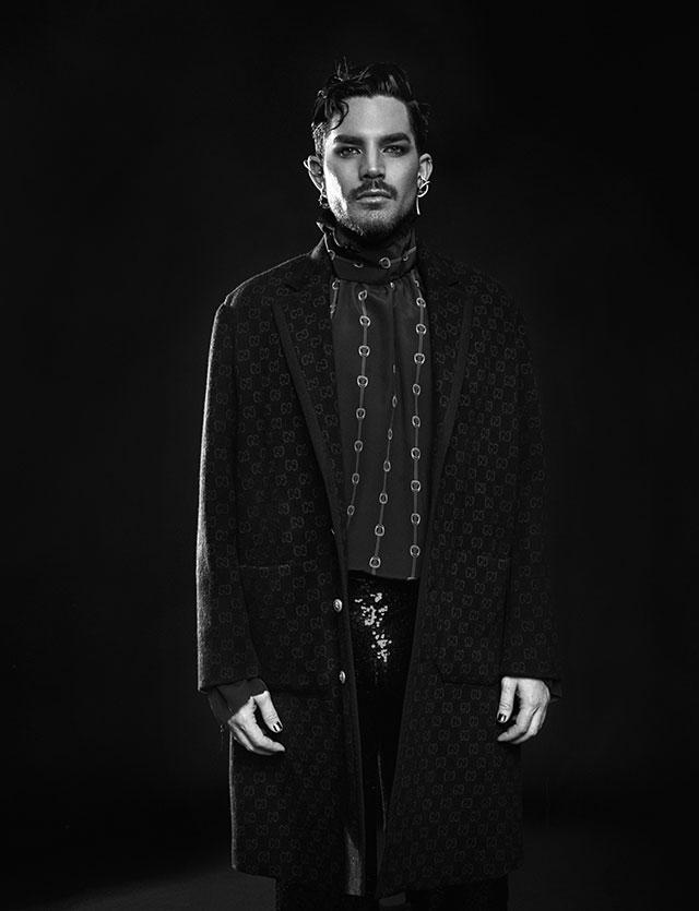 Adam Lambert on Rollacoster