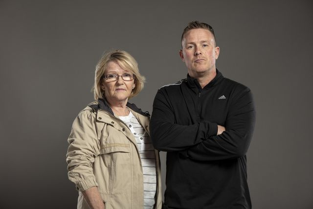 Christine (68) & Garry (42)