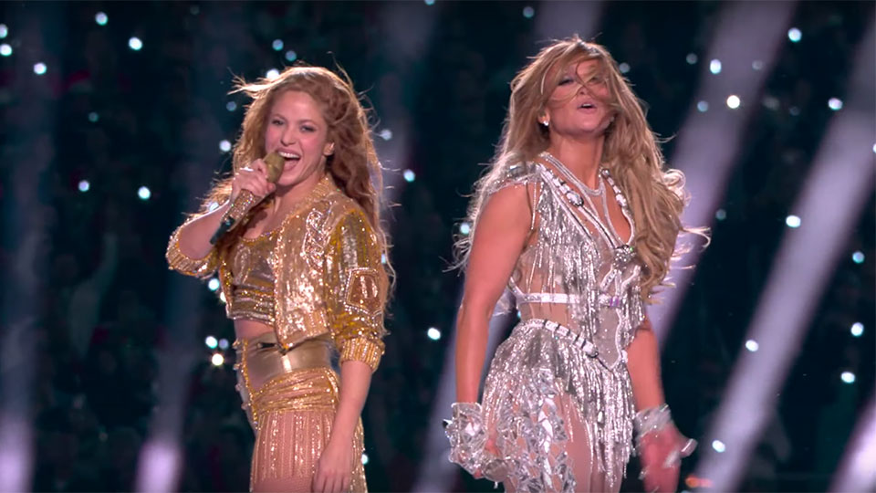 Shakira and Jennifer Lopez