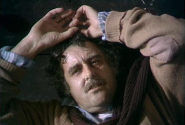 Jack (Gordon Salkilld) gets the sickness in New Arrivals. Credit: BBC Worldwide.