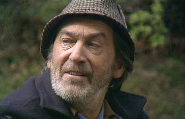 Who's this? Patrick Troughton guest stars in Parasite. Credit: BBC Worldwide.