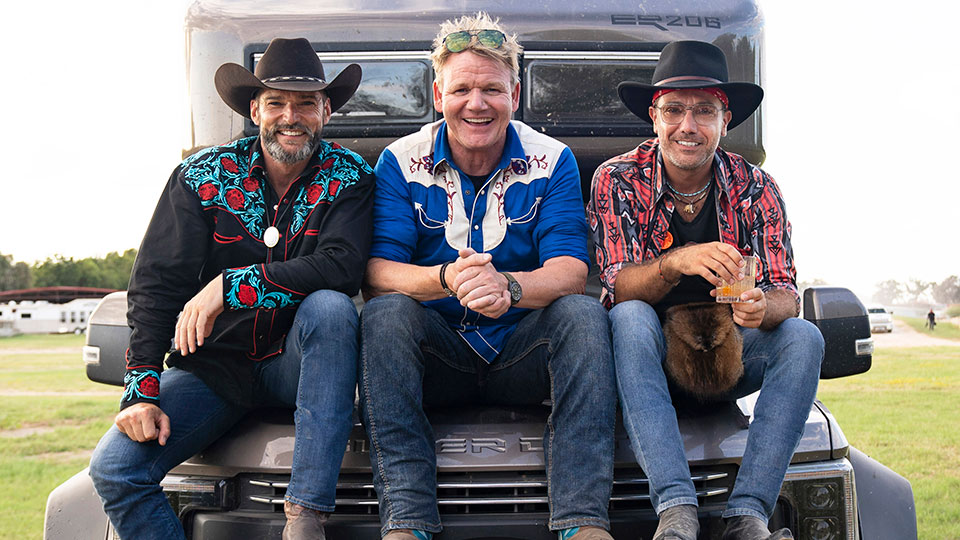 Gordon, Gino & Fred: American Road Trip