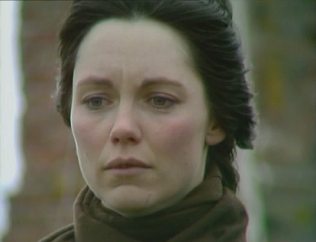 Jenny (Lucy Fleming) learns of Greg's fate in Long Live the King. Credit: BBC Worldwide.