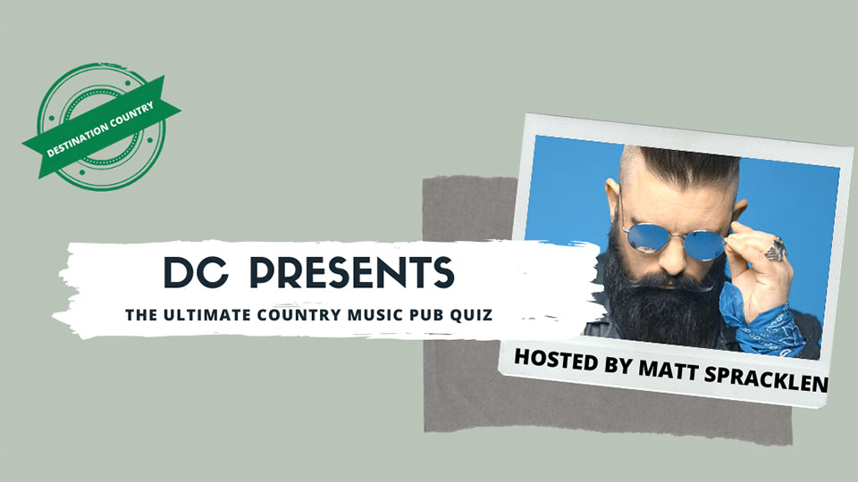 Destination Country Pub Quiz
