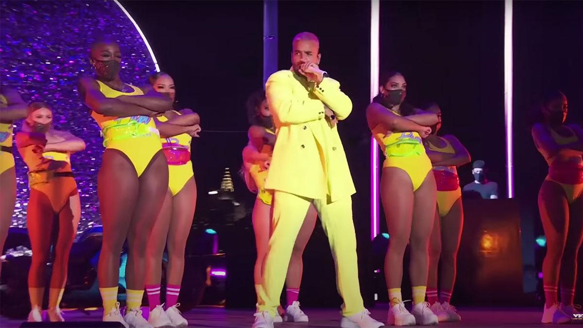 Maluma at the MTV VMAs 2020