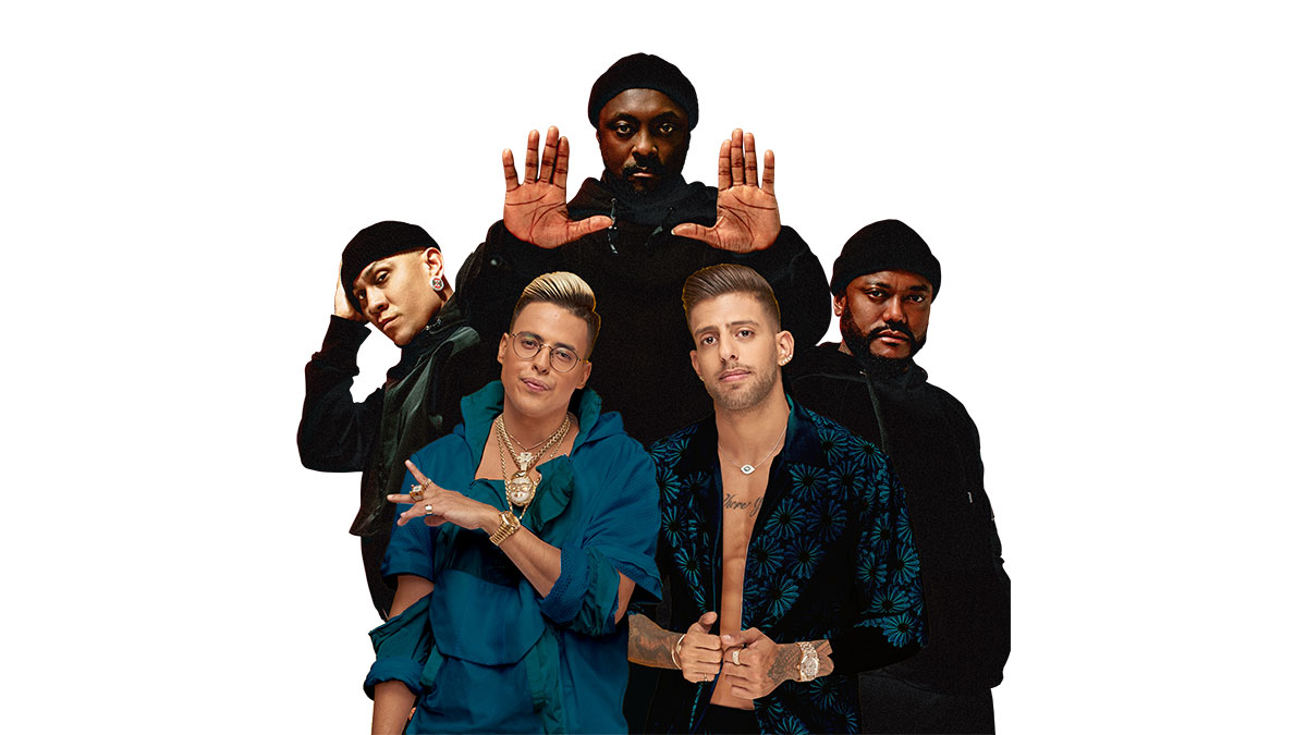 Static and Ben El, and Black Eyed Peas