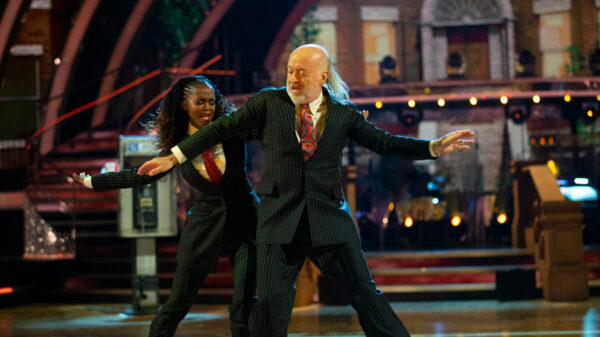 Oti Mabuse and Bill Bailey