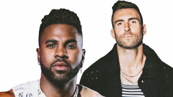 Jason Derulo and Adam Levine