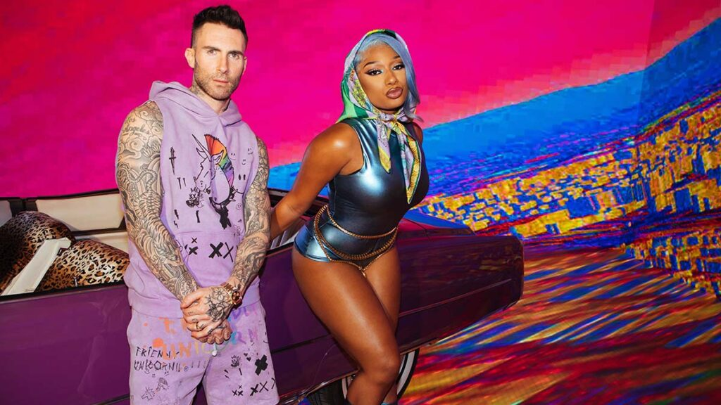 Watch: Maroon 5 team up with Megan Thee Stallion for Beautiful Mistakes  Entertainment Focus