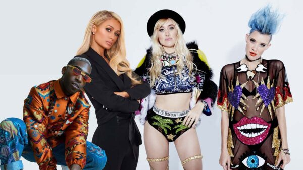 Tinie Tempah, Paris Hilton and Nervo