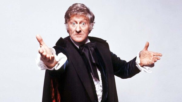 Jon Pertwee as the Doctor in Doctor Who 1970-1974 Credit BBC