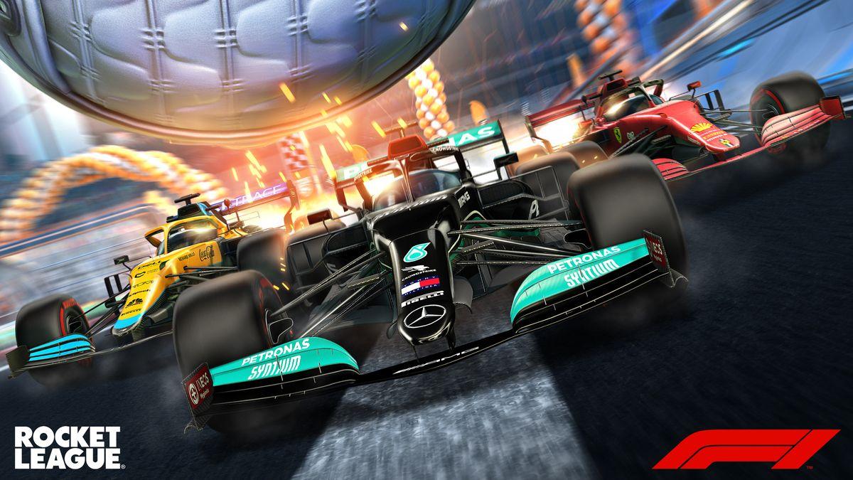 Rocket League - Formula 1 Fan Pack