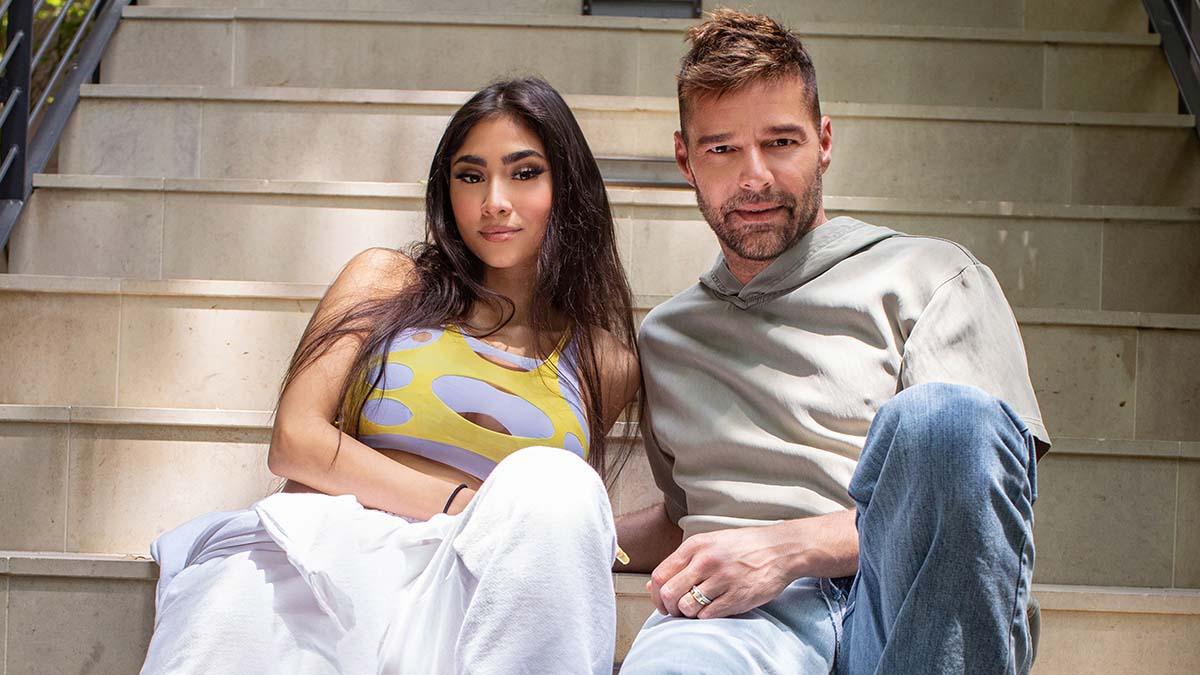 Paloma Mami and Ricky Martin