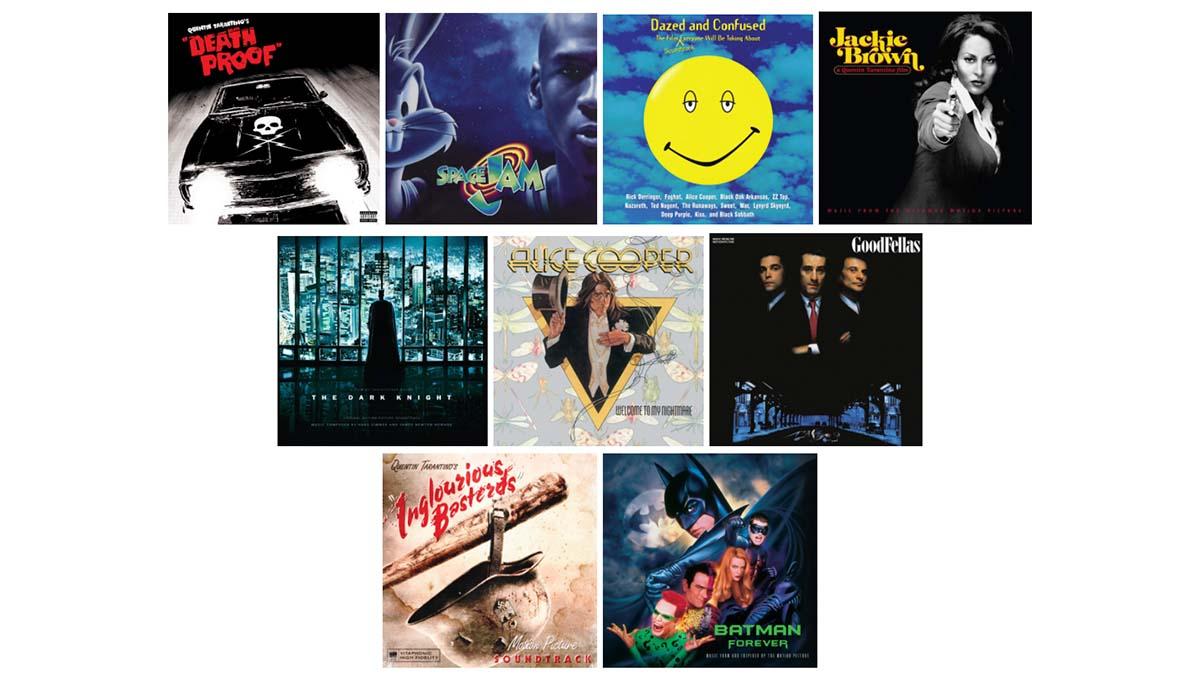 Warner Music Group film soundtracks
