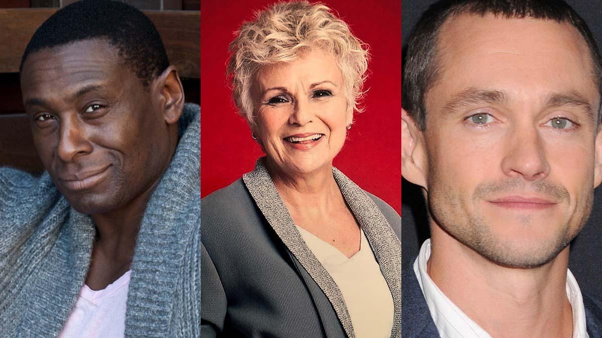 David Harewood, Julie Walters and Hugh Dancy