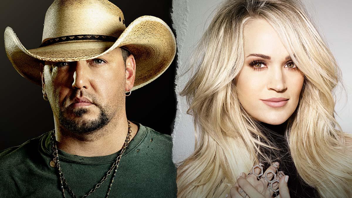Jason Aldean and Carrie Underwood