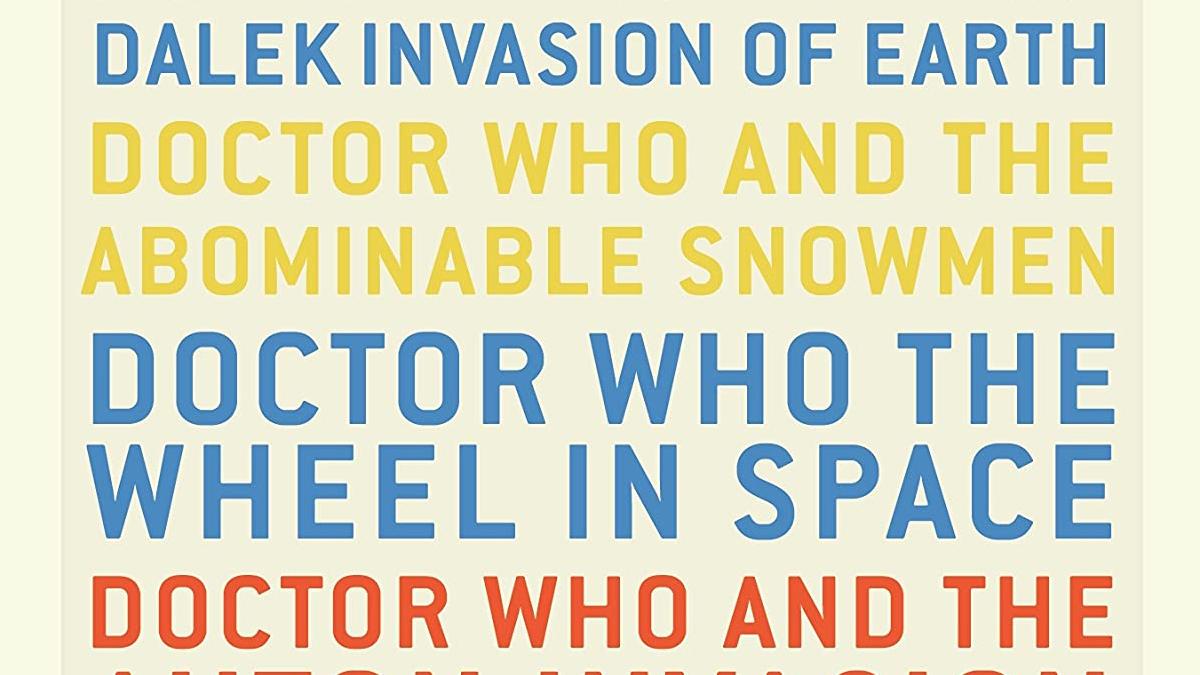 Doctor Who Terrance Dicks 1