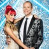 Robert Webb and Dianne Buswell