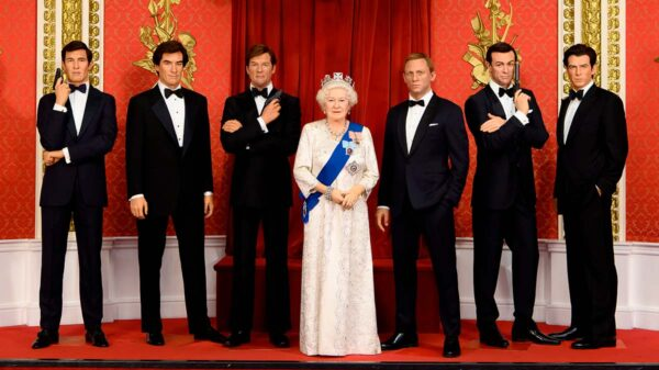James Bonds at Madame Tussauds
