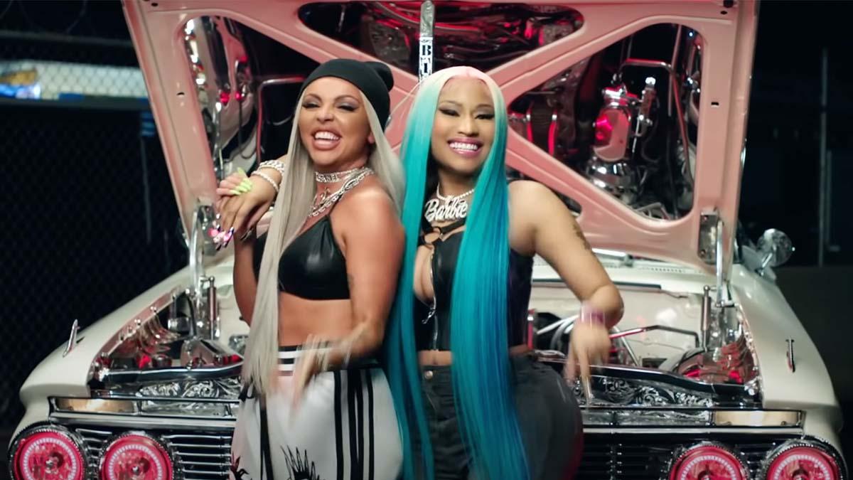 Jesy Nelson and Nicki Minaj