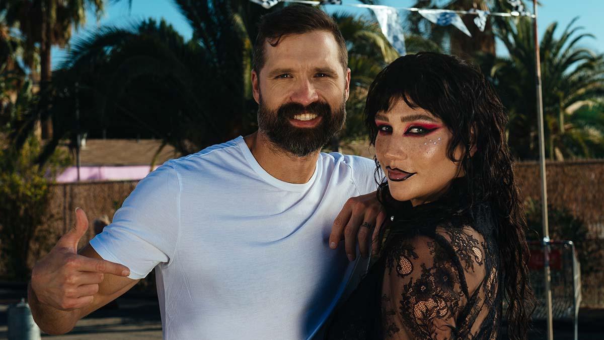 Walker Hayes and Kesha